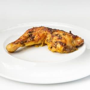 כרע עוף בתבלינים שמן זית ושום